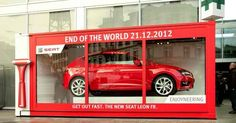 Awesome Store Display last 12,12, 2012 for a Car Company  #design #ad #oudoorads #business #marketing  NO COPYRIGHT © INFRINGEMENT INTENDED. We don't own this image and information. All rights and credit go directly to its rightful owner