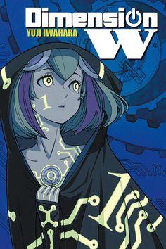 Dimension W #1 cover by Yuji Iwahara