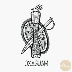"OXAGUIAM - DA SÉRIE: ""AS ARMAS DOS ORIXÁS"" - See https://s-media-cache-ak0.pinimg.com/originals/1d/68/ea/1d68eab71360b265ae1c8e8c7cd2a73b.jpg"