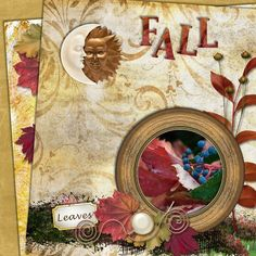 layout using the beautiful kit Favorite Season - Designs By Laura Burger. https://www.forever.com/products/favorite-season-scrap-kit-exclusive-to-forever