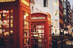 iv always wanted to actually see one of these telephone booths London City, London Phone Booth, Study In London, Telephone Booth, The Infernal Devices, Night City, London Calling, Favim, Travel Bugs