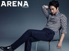 The June edition of Arena Homme Plus will have a flavor of YUM as Song Seung Heon, who's extra delectable dressed in Dior Homme suits, graces its pages. Song Seung Heon, Korean Actresses, Korean Actors, Asian Actors, Kimchi, Korea University, So Ji Sub, Older Men, Me Me Me Song