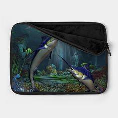 Check out this awesome 'Wonderful+marlin' design on @TeePublic! Lunch Box, T Shirt, Bags, Design, Fashion, Handbags, Tee, Moda, La Mode