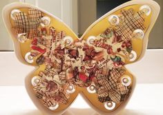 Vintage Butterfly Marquee! Get your own custom, one of a kind today!