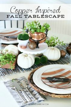 Great Ideas — 25 DIY Thanksgiving Ideas (Part Four)!!