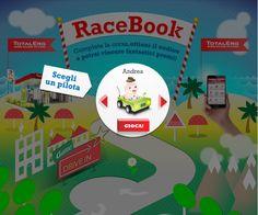 Racebook, il social game di TotalErg! :)