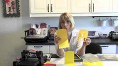 Pop 'n Cuts Demo Tips Part 2 of 2, via YouTube.