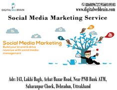 Want to increase your social network Reach? Digital Web Brain Leading Social Media Marketing Service provider company in Dehradun, Uttrakhand offering affordable SMM services to grow your business. Visit: http://bit.ly/2zNH0uS  #SMMCompanyinDehradun #SMMServiceinDehradun #SMMDehradun #SMMServiceProviderinDehradun