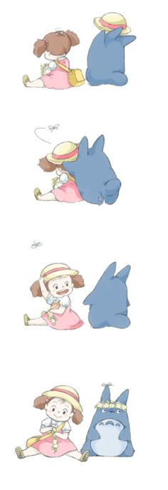 totoro and mei