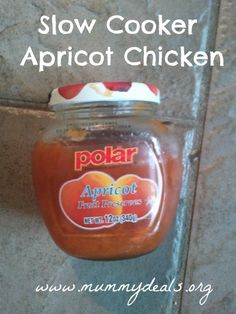 Yummy. Inexpensive. Ridiculously simple. Slow Cooker Apricot Chicken | Crock Pot Apricot Chicken