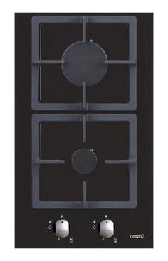 30 x 51 cm Autarkes Domino-Gaskochfeld 30cm breit/Gas auf auf 8 mm schwarzem Glas/2 hochwertige Gasbrenner/ER&Flüssiggas/Kochfeld/Gaskochmulde/Gasfeld/SUPER PREIS/EUROPÄISCHE TOP MARKE SEIT 1947/UVP229 EUR/: Amazon.de: Elektro-Großgeräte