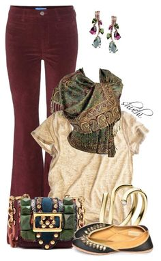 Dressed To The T by shuchiu on Polyvore featuring Calypso St. Barth, M.i.h Jeans, Burberry and Georg Jensen