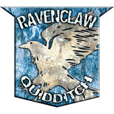 Ravenclaw Quidditch Badge ($20) ❤ liked on Polyvore featuring harry potter