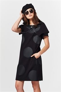 BOOM BOOM COWL DRESS-dresses-Trelise Cooper