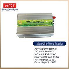 20-40Vdc or 24-45Vdc Input Solar Grid Tie Pure Sine Wave Solar Panel Inverter
