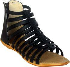 Trending beautiful flat sandals for women - Trendsuni Beige Flats, Navy Flats, Brown Flats, Black Flats, Flat Sandals, Gladiator Sandals, Comfortable Sandals, Trends, Style And Grace