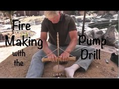 This video demonstrates how to use an ancient pump drill to create fire. The history of the pump drill is discussed followed by a fire making demo. Afterward...