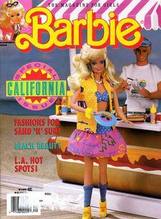 1988 Barbie Magazine - California Dream Barbie by sezzalicious, via Flickr