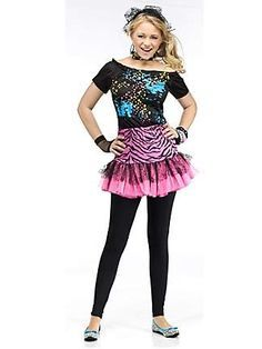 Halloween Costumes for Teens  sc 1 st  Pinterest & Childu0027s Groovy Girl 60u0027s Costume - Candy Apple Costumes - Girls ...