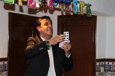 Mago para comuniones en Badajoz, Cáceres y Granada. Mago Tony Frackson.  ...y la carta es: 6 picas!!!!!
