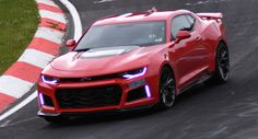 Watch 2017 Chevy Camaro ZL1 Lap The Nurburgring In 7:29.60