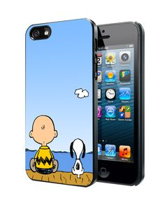Snoopy And Charlie Brown Samsung Galaxy S3 S4 S5 Note 3 Case, Iphone 4 4S 5 5S 5C Case, Ipod Touch 4 5 Case