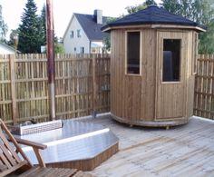 Venkovní sauna Thermowood - VERTIKAL