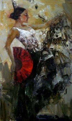 Angelica Privalihin #flamenca
