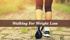 What could be more plain and enjoyable than to lose weight by walking? If you are not that committed to exercising or you simply don't have the time.