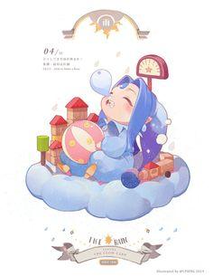 The Clow Cards Blue collection always forget to post work after i finishO< Cardcaptor Sakura, Sakura Card Captor, Kawaii Chibi, Cute Chibi, Anime Kawaii, Manga Anime, Anime Chibi, Anime Art, Cute Characters