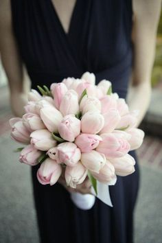soft pink tulips - Kohl Mansion wedding by Emily Dawn Photography