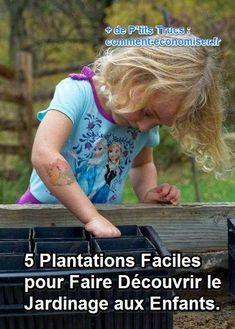 Le jardinage est une activité que les enfants adorent ! Alors comment leur faire découvrir cette occupation à la fois très formatrice et très ludique ?  Découvrez l'astuce ici : http://www.comment-economiser.fr/idees-decouvrir-jardinage-enfants.html