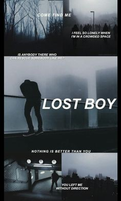 Lost boy// troye sivan. <<<Actually it's lost boy by 5sos.
