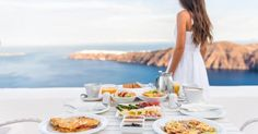 """Well-deserved breakfast over at Caldera, Santorini. Ahi Tuna """"Poke Style"""", anyone? Healthy Meals To Cook, Healthy Eating, Healthy Recipes, Healthy Food, Santorini, Hormone Balancing, Amazing Adventures, Superfoods, Weight Gain"""