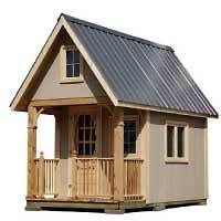 Build an 8 x 13.6 Guest Bunkie or Cottage / Cabin DIY Plans
