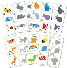 Игра для детей Найди тень или Узнай по тени
