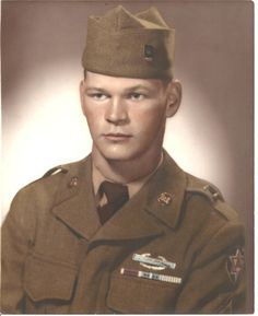 Robert Ellingson US Army Portrait