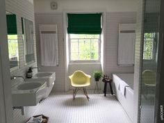 ROOMER Blog - House Tour in North London. Eames in the BAthroom