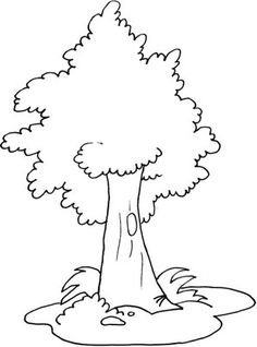 trees and flowers coloring pages trees and flowers kids printables coloring pages - Coloring Pages Trees