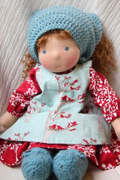 Millie a 16 Waldorf Doll by WildGingerKids on Etsy                                                                                                                                                                                 More