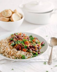 Red Beans and Rice | acouplecooks.com