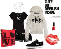 """""""LOVE the casual look"""" by pyroprincess on Polyvore"""