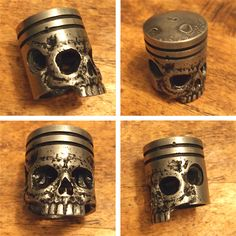 a Piston skull sculpture i did...