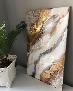 Diy Resin Art, Epoxy Resin Art, Diy Resin Crafts, Diy Art, Diy Wall Art, Acrylic Pouring Art, Acrylic Art, Decoration, Art Decor