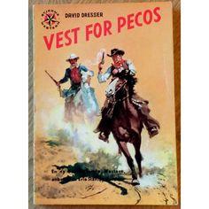 Stjernebok: Nr. 134 - Vest for Pecos (1958)