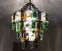 creative ways to display beer bottles - Google Search