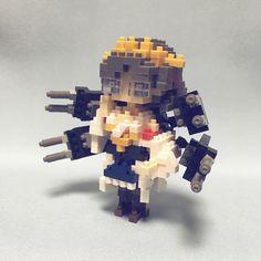 #nanoblock #nanoblocks  #bricks  #blocks #ナノブロック#艦コレ#霧島#kancore#kirishima  艦コレ/霧島