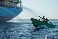 The Somali pirates have hijacked another vessel off the coast of Somalia and use it as a Mother Vessel.