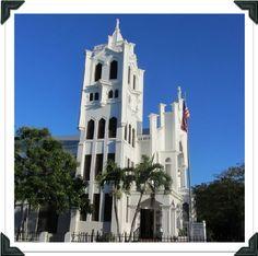 Duval St Church in Key West Florida
