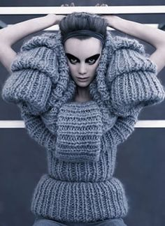 haute couture knitting